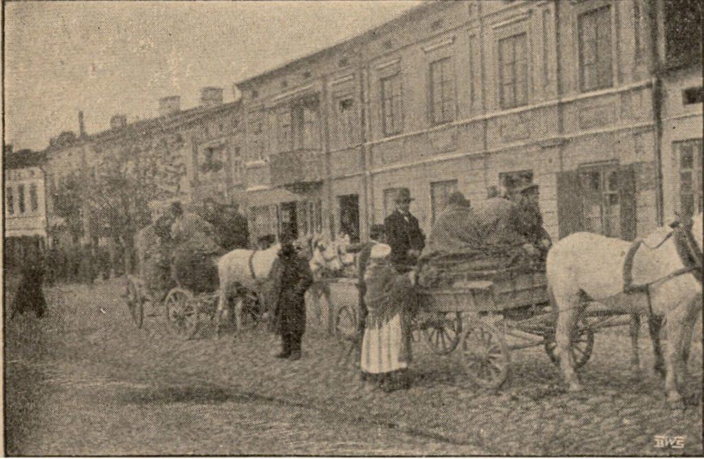 Bryczki w Łasku