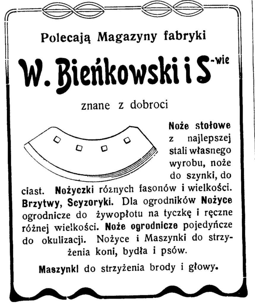 Magazyn farb W. Bieńkowski