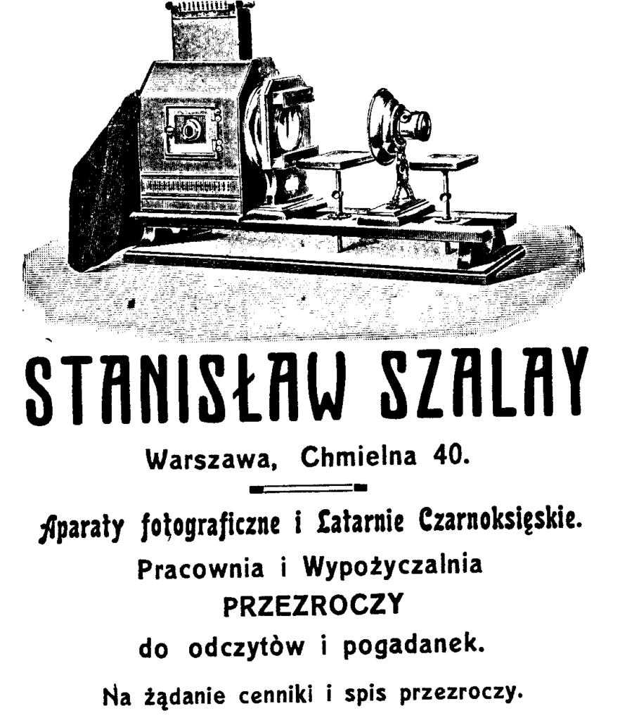 Sklep fotograficzny S. Szalay