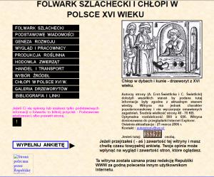 aKcja: rEkonstrukcja vol.1 Chłopi i folwarki w XVI wieku